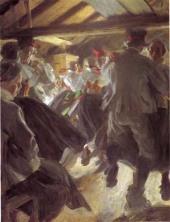 Dans i Gopsmorstugan