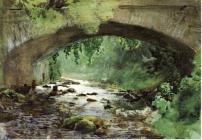 Ström under bro